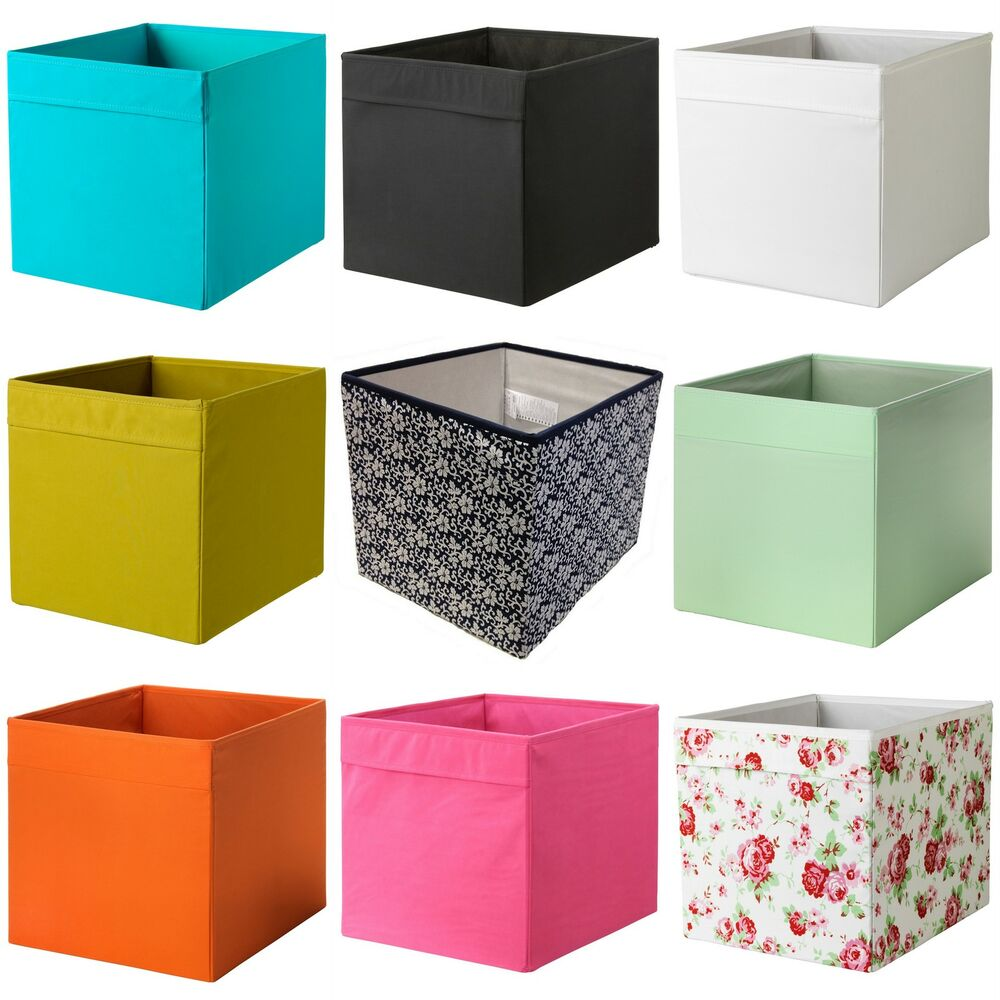 Aufbewahrungsbox Ikea Expedit Ikea Drona Fabric Storage Box Basket W Handle Expedit Kallax
