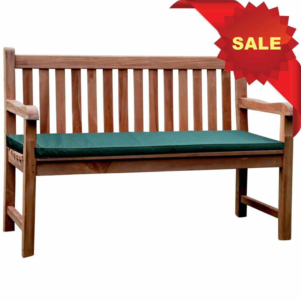 Bois Teck Kyoto Chunky Solid Teak Wood 1 3m Garden Park Bench Wood Seat Chair Memorial Ebay
