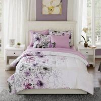 Watercolor Floral Bedding Comforter Set Collection Queen ...