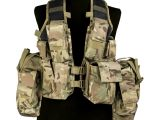 Mil Tec South African Army Tactical Assault Military Gear Combat Vest Multitarn Ebay
