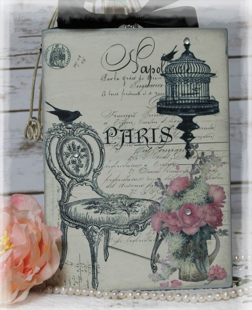 """~ """"Paris..."""" ~ Vintage ~ Shabby ~ Country Cottage ~ style"""