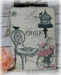 "~ ""Paris..."" ~ Vintage ~ Shabby ~ Country Cottage ~ style"