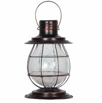 Solar Lantern Garden Light Path Lighting Hanging Yard Lamp ...
