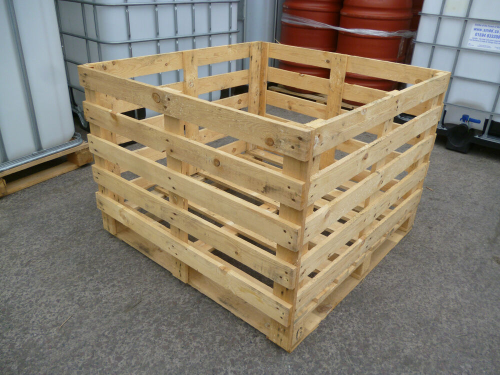 Wooden Crate 1040 X 1110mm Fruit Vegetable Box Crate