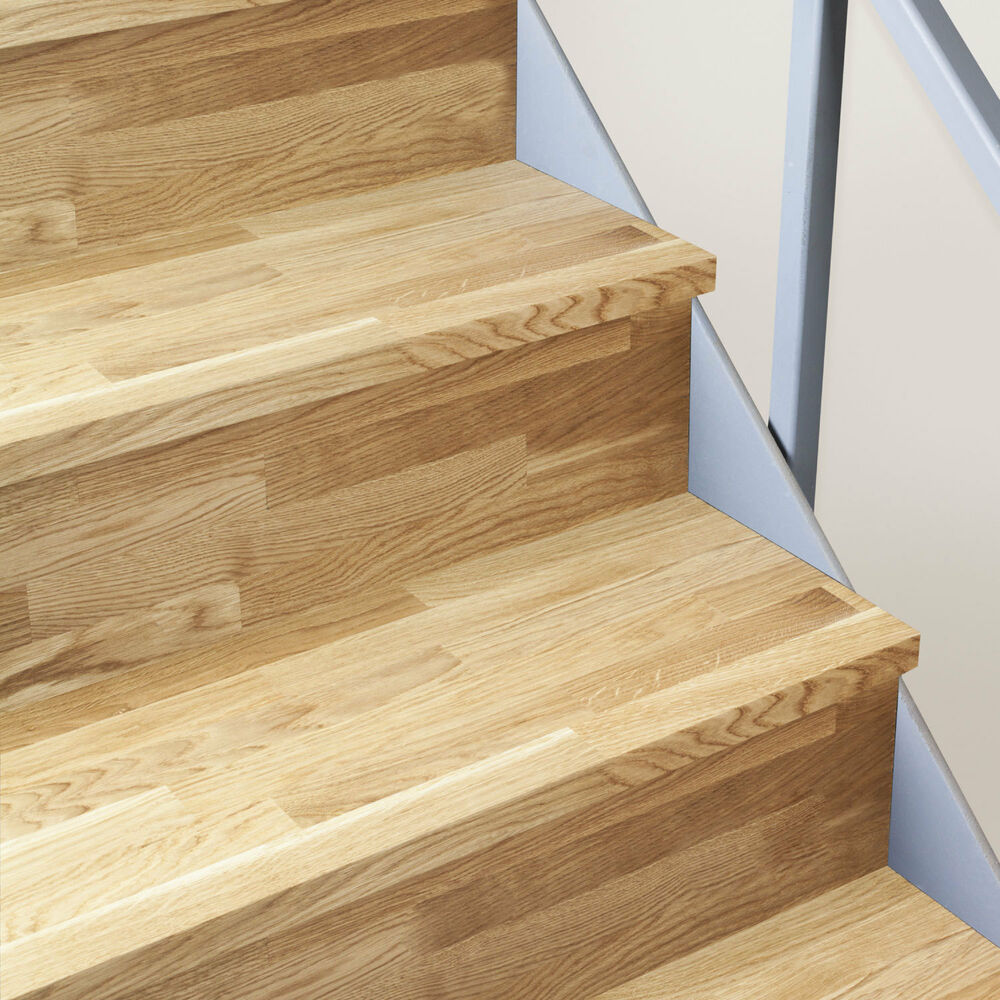 Kit Renovation Escalier Quick Step Solid Oak Timber Stair Cladding - 995mm Staircase Tread