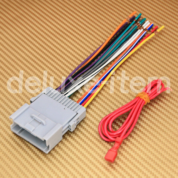 NEW Car Stereo Head Unit Wire Wiring Harness Adapter for KIA