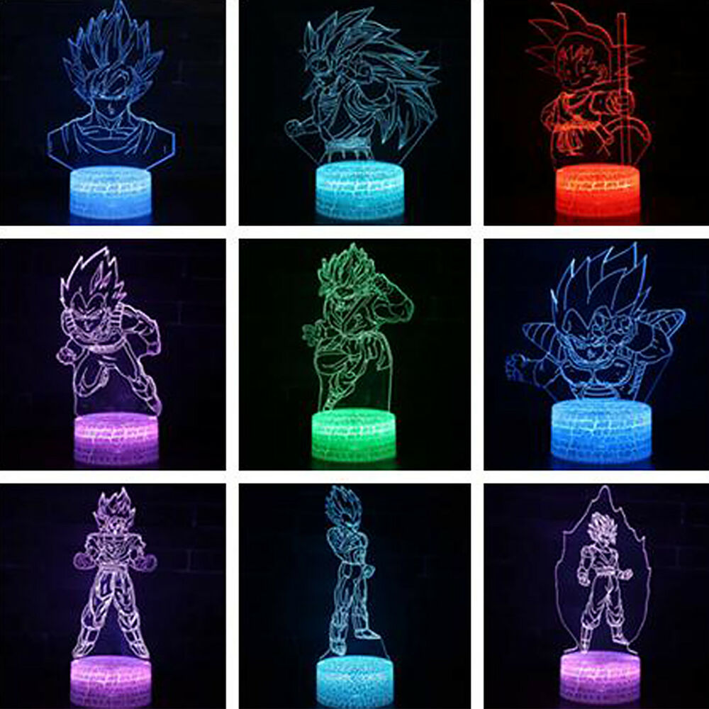 Dragon Lamps For Sale Dragon Ball 3d Lamp Led Night Light Illuminate Illusion Usb Touch