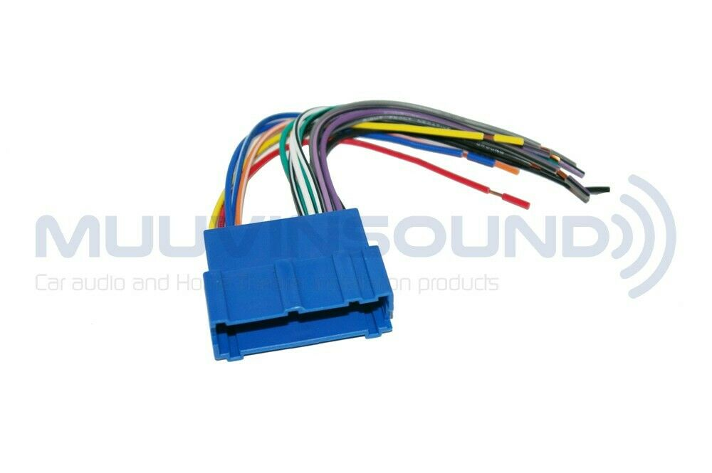 Radio Wire Harness for Aftermarket Radio Stereo Installation RAPTOR