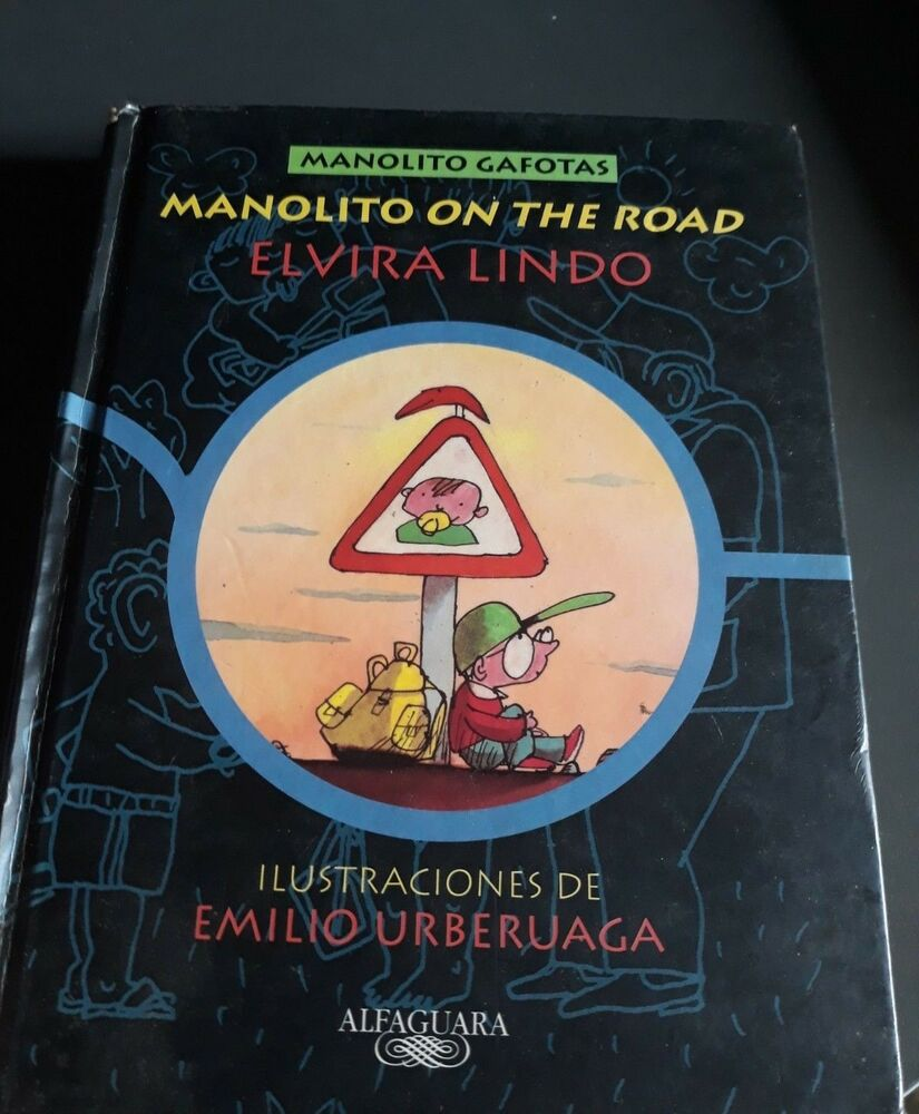 Libros De Manolito Gafotas Libro Manolito Gafotas Manolito On The Road Elvira Lindo Ebay