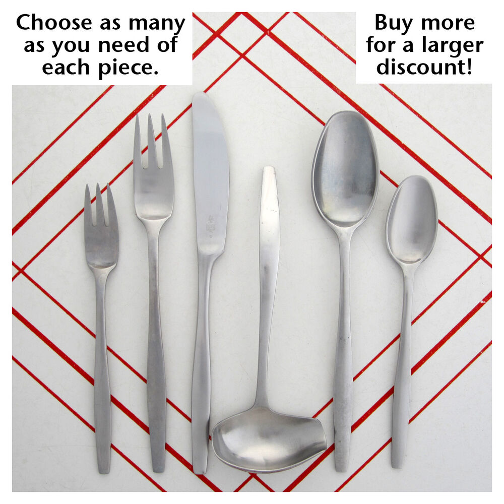 Discount Stainless Flatware Choose Your Pieces Of Dansk Variation V Denmark Mid Century Stainless Flatware Ebay