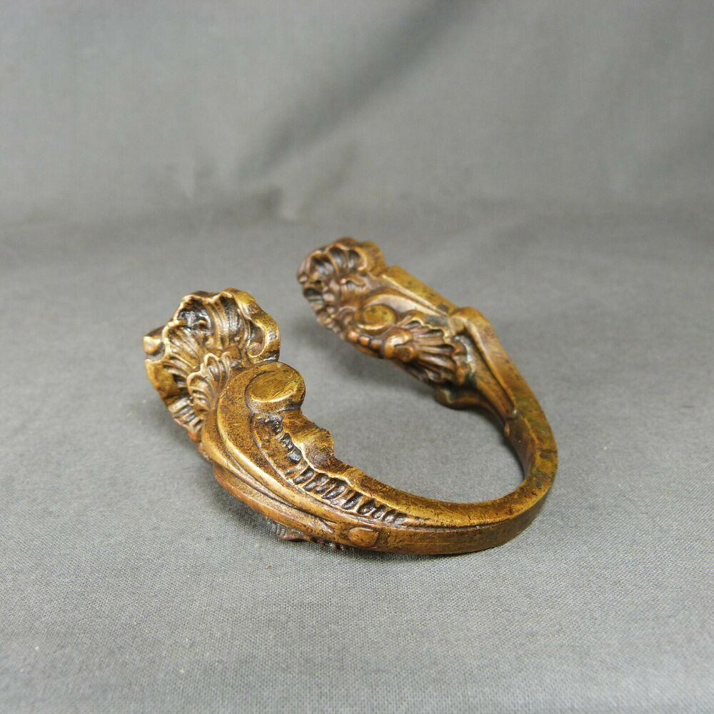 Antique Bronze Curtain Tie Backs Antique French Louis Xv Style Ormulu Curtain Tiebacks Ornate Bronze Ebay
