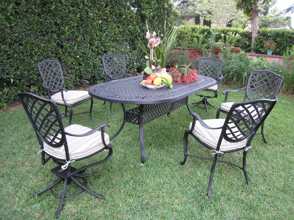 23 Perfect Patio Dining Sets With Swivel Chairs