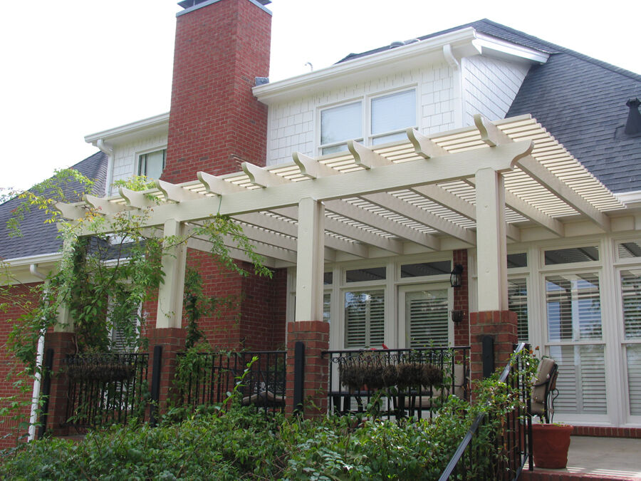 Alumawood Aluminum Pergola Kit Lattice Shade Canopy - Aluminum Shade Structure Kits