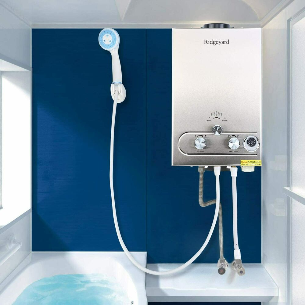 8l Propane Gas Lpg 2gpm Instant Hot Water Heater Tankless