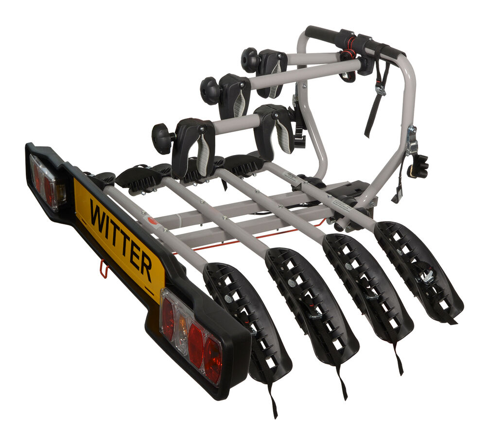 Witter Zx204 Tow Bar Mounted 4 Four Bike Cycle Carrier