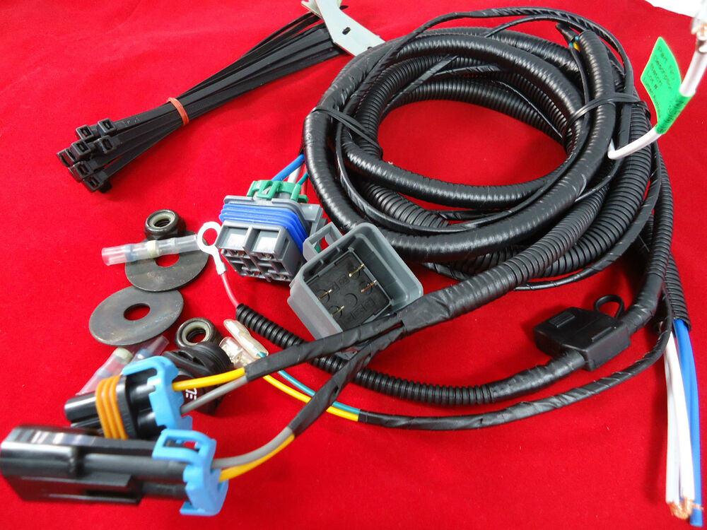 wiring harness driving lights