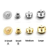 Backing Screw Back Earring Back 039 s 14k Yellow or White ...