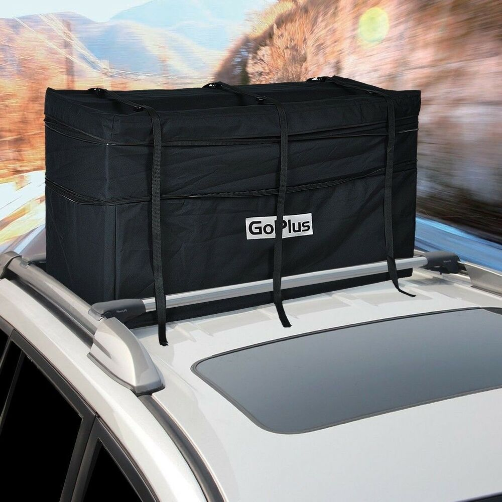 Jumbo Car Suv Roof Top Waterproof Luggage Travel Cargo