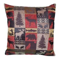 Rustic Fabric Throw Pillow 20x20 Cabin collection Lodge | eBay