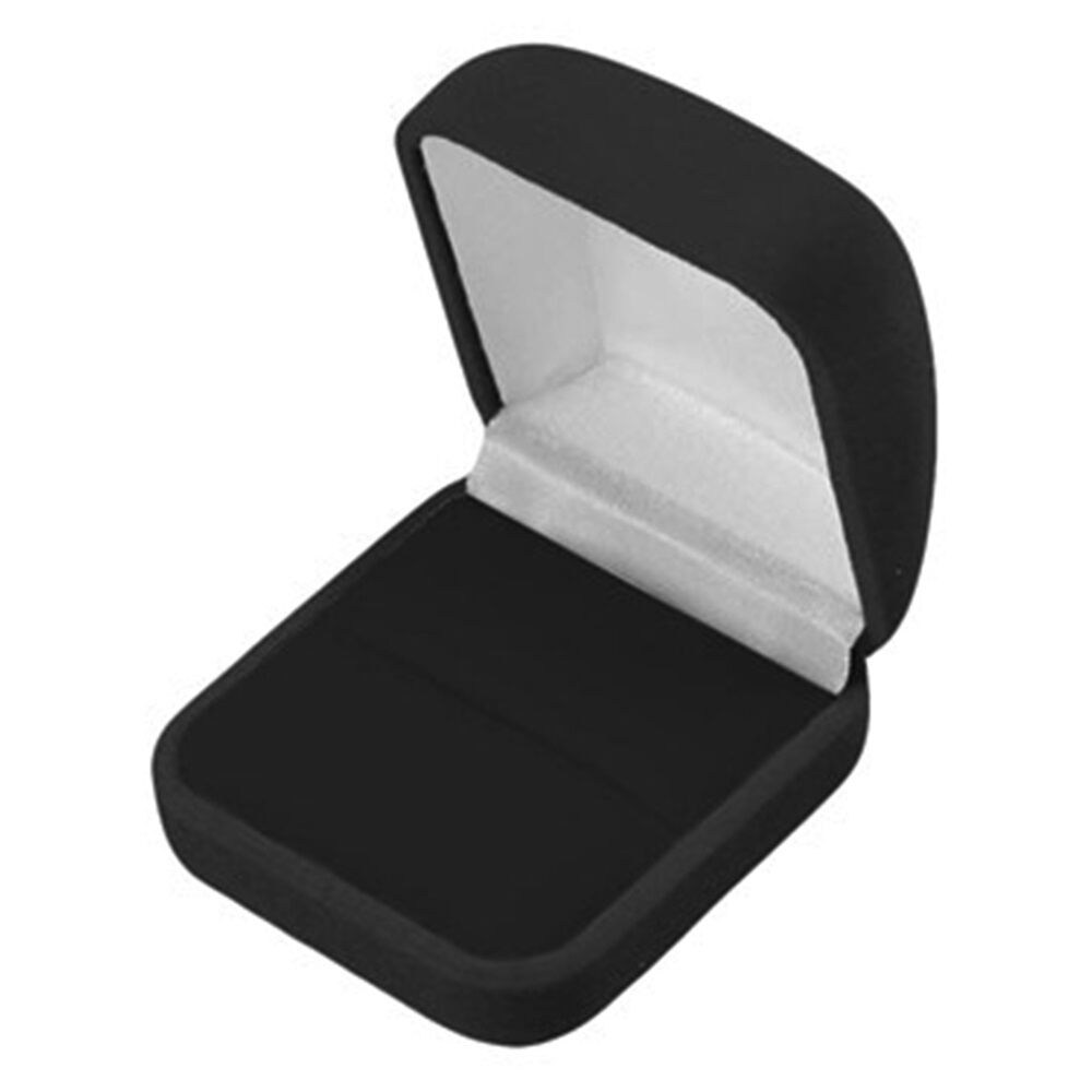 Wholesale Jewelry Packaging Wholesale Lot Of 48 Black Velvet Ring Jewelry Packaging Display Gift Boxes Lg Ebay