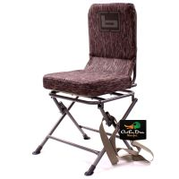 NEW BANDED SWIVEL BLIND CHAIR PADDED SEAT HUNTING STOOL ...