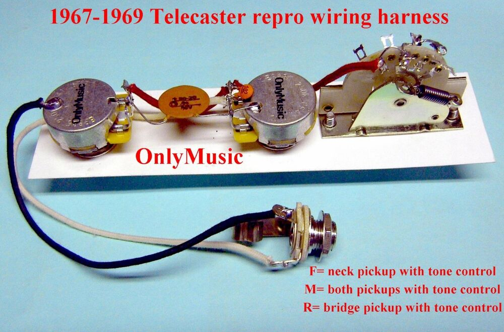 wiring harness for 1969