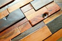 Decorative Tile For Wall, Wood Wall Tile, 3D Wall Art
