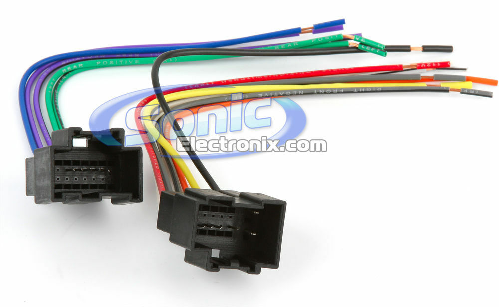 Scosche GM17B 2006-up Saturn ION Wire Harness to Connect Aftermarket