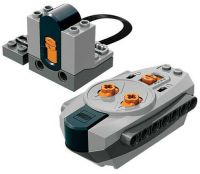 Lego Power Functions REMOTE CONTROL + RECEIVER (technic ...
