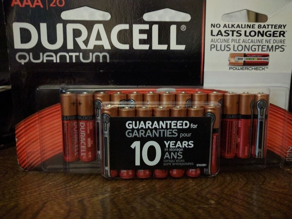 1 5v Batterie Duracell Quantum Aaa Batteries 20 Pack Battery