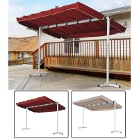 Outdoor Free Standing Awning Patio Canopy Gazebo Shelter ...