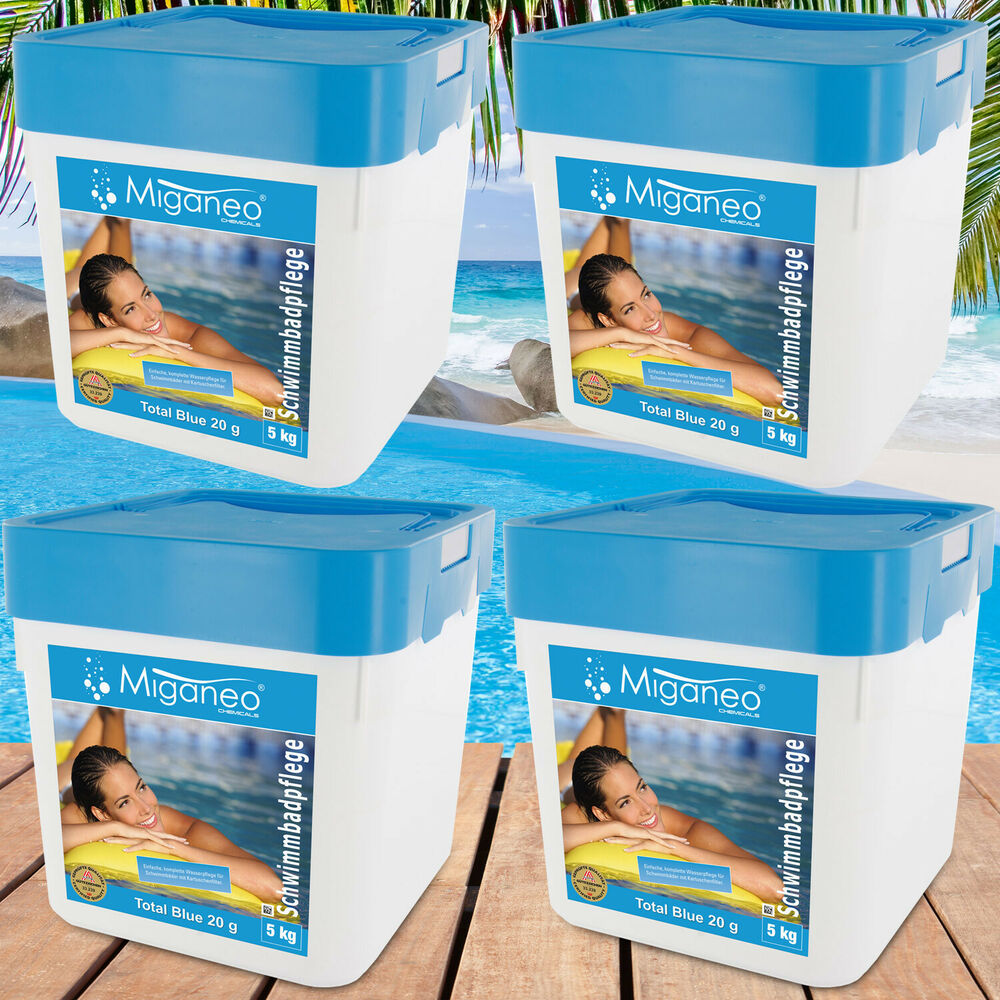 Multitabs Pool 5 Kg 4x5kg Blue Tabs 20g 5in1 Multitabs Chlor Für Pool