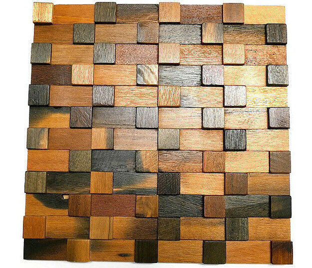 Decorative Tiles For Wall, Wood Wall Tiles, 3D Wall Art