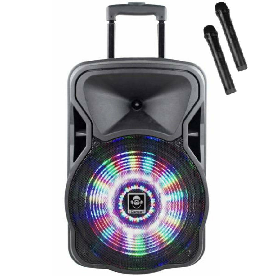 Trolley Lautsprecher Idance Idance Groove 420 500w Speaker Loud Speaker Party System With Microphones Ebay