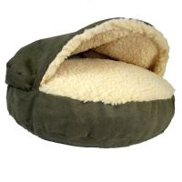 SNOOZER LUXURY COZY CAVE DOG CAT NESTING PET BED SMALL ...