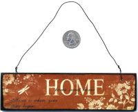 HOME SWEET HOME Wooden Plaque Sign Ornament Wall Decor | eBay