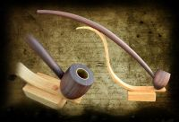 Lord of the rings inspired tobacco pipe 17 inchs long with ...