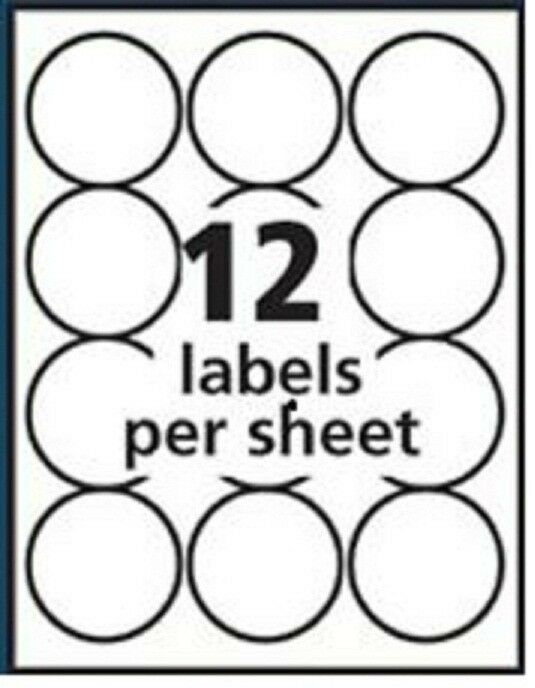Avery Circle Labels Template 5294 Free Avery 174 Template For