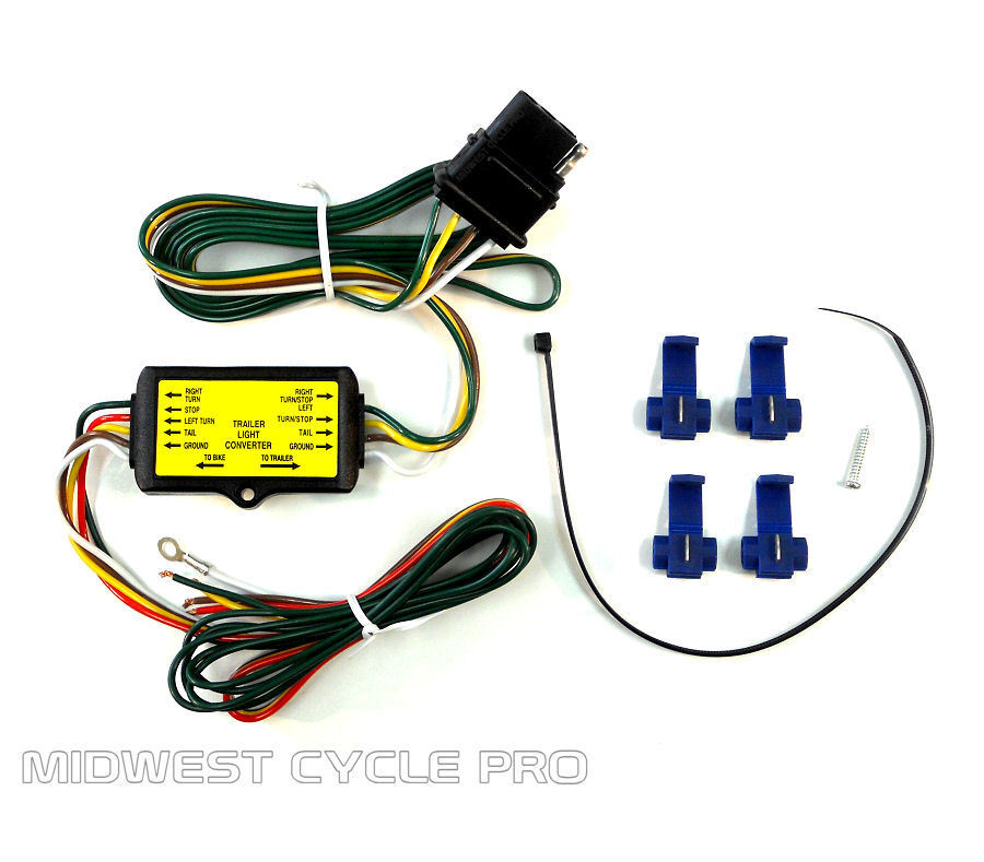 motorcycle trailer wiring harness