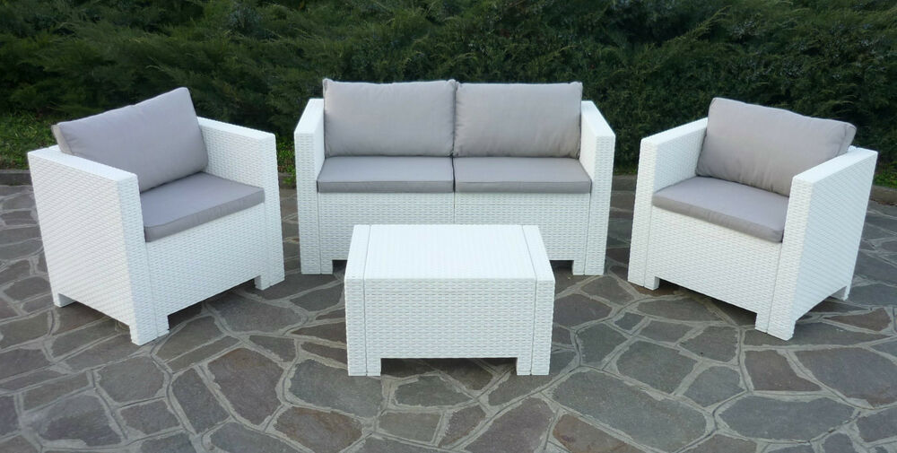 Salon De Jardin Kartell New Rattan Wicker Conservatory Outdoor Garden Furniture