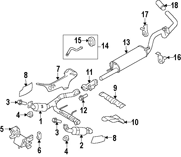 1994 Ford Ranger Exhaust System Diagram \u2013 Vehicle Wiring Diagrams