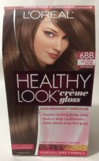 L'Oreal Healthy Look Creme Gloss Hair Color Light Beige ...
