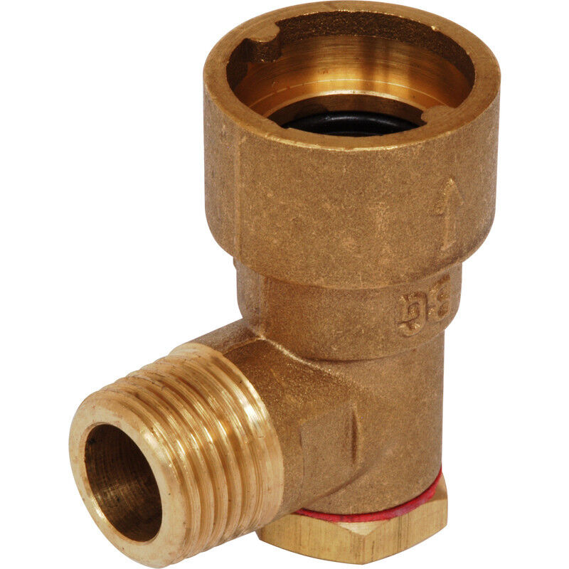 Gloeilamp Bajonet Fitting Gas Bayonet Socket Brass Cooker Hose Fitting 90º Elbow