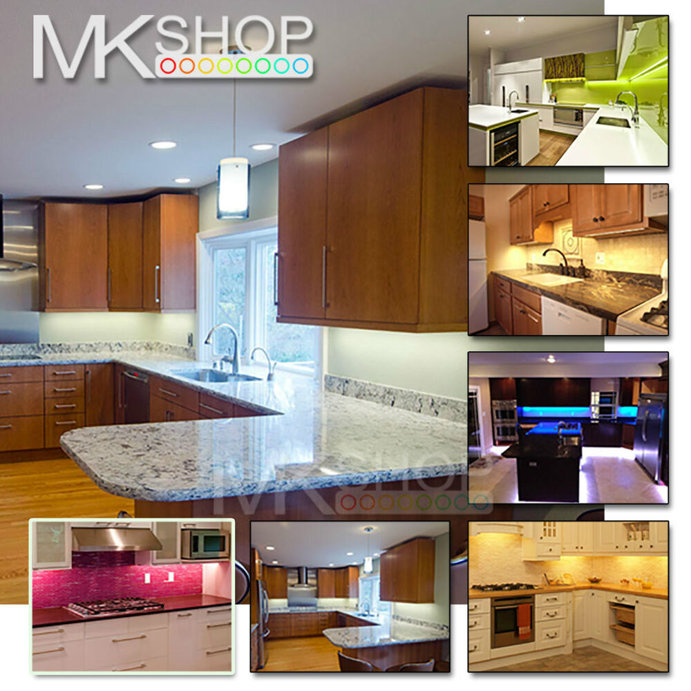 5m 300 Led Cool White Strip Kitchen Cabinet Under Counter