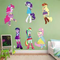 My Little Pony Equestria Girls Decal Removable Wall ...