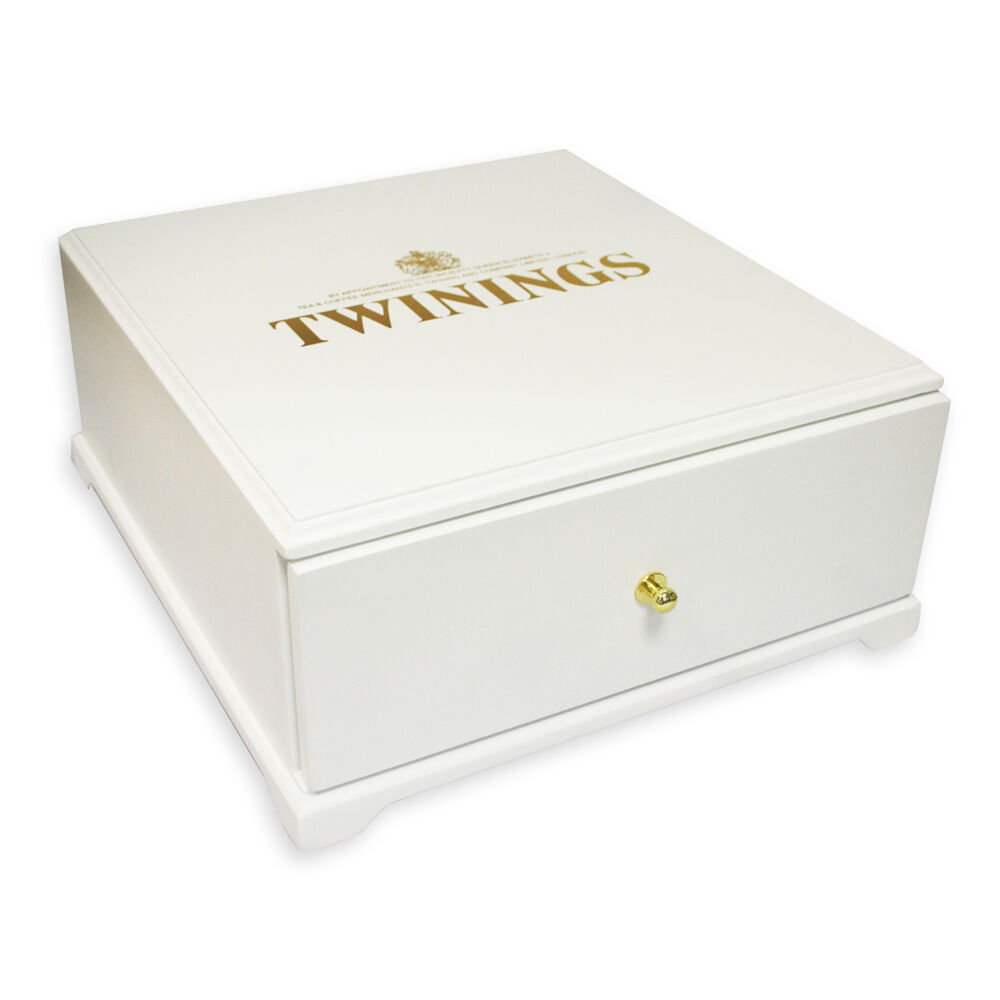 Large Twinings Luxury Wooden 9 Compartment Tea Chest