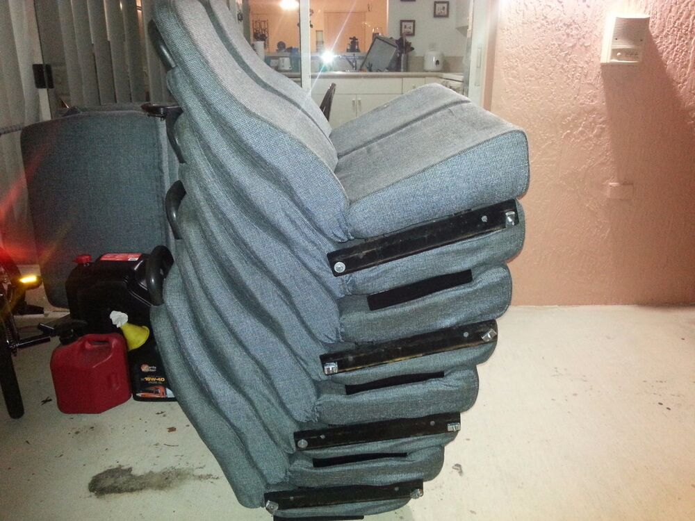 Shuttle With Car Seat Bus Seats For Shuttle 7 3 Right And 4 Left 525 Ebay