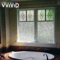 "36"" x 60"" VViViD Rice Paper Frosted Privacy Window Vinyl ..."