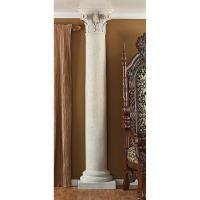 "86"" Architectural Design Weathered Finish Decorative Half ..."
