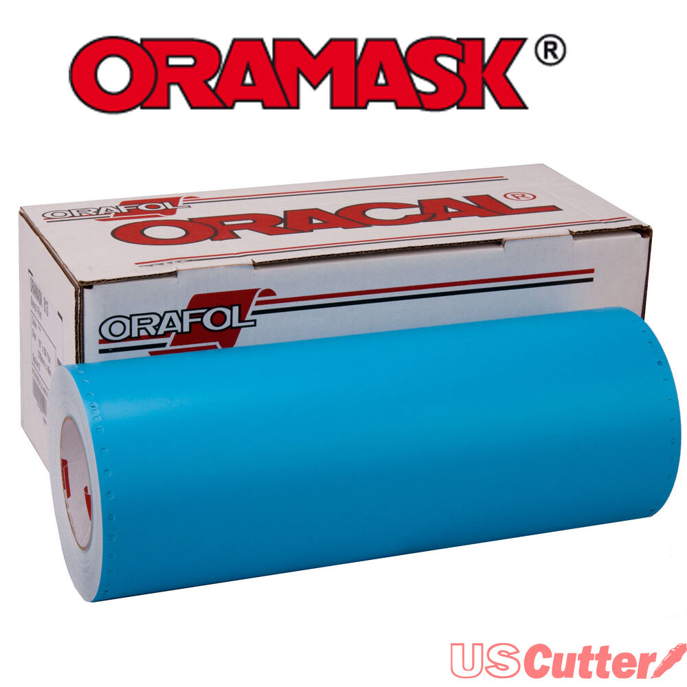 Oramask 813 Paint Mask Stencil 3mil Adhesive Water Based
